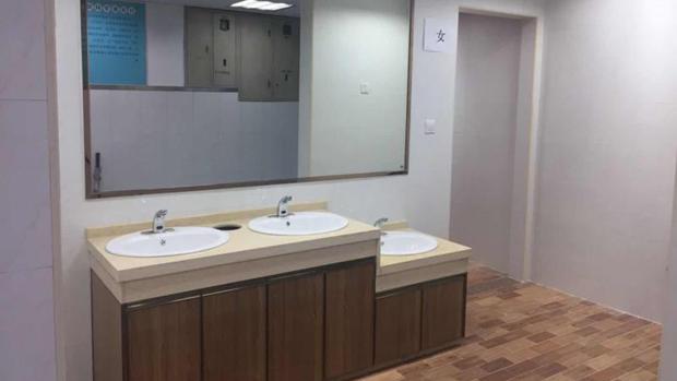 市二院年底完成门急诊部所有卫生间改造
