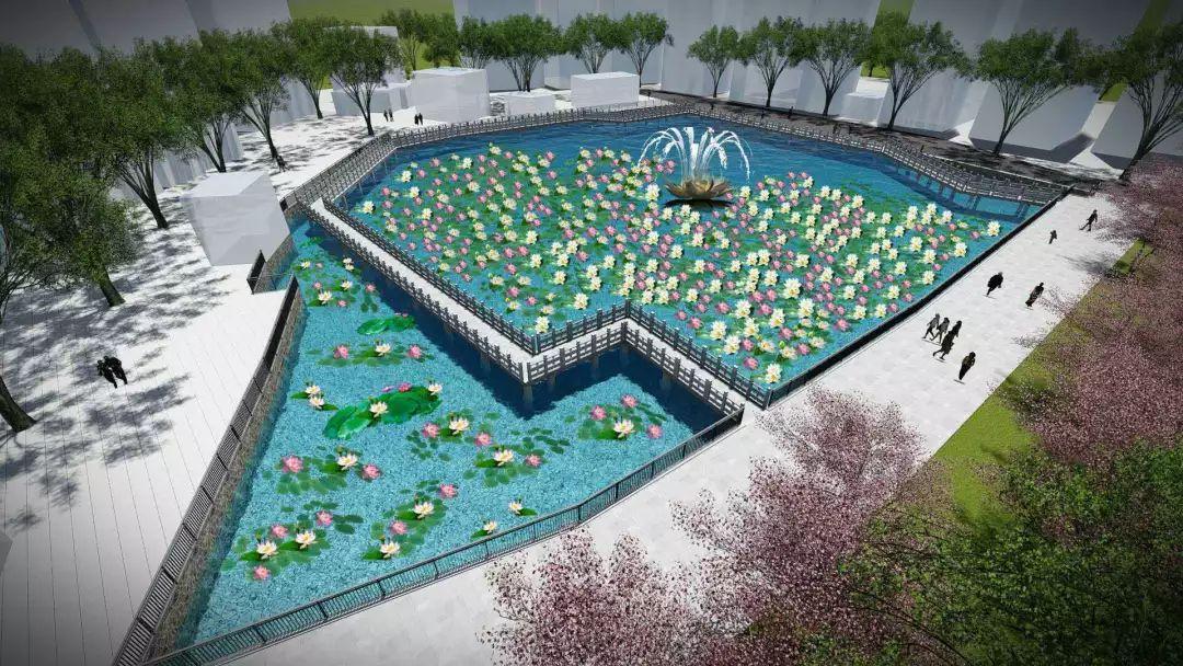 孔雀绿雕园水体修复采用最先进的沉水森林型生态修复技术,建立由沉水植物、水生动物以及除藻类益生微生物构成的三位一体的水森林清水型稳定生态系统。通过物理清淤、培养水生植物、增加水环境容量等方式,促进消除内源污染,增强水体自净能力,恢复生物多样性,持续改善水质。届时,市民 近可观水中鱼儿绕荷游,远可望风动斜影入清漪。 #田寮公园#