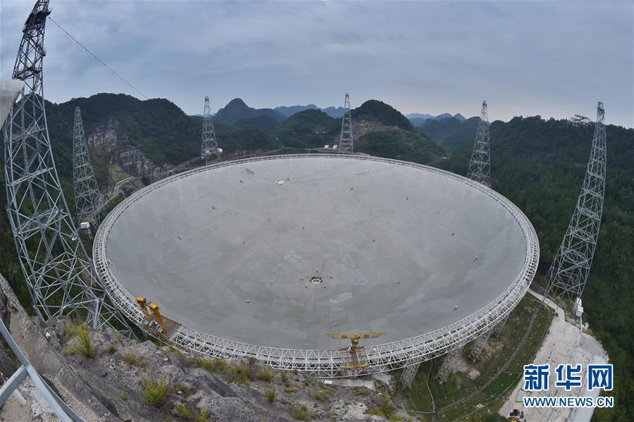 """(科技)(1)""""中国天眼"""":两年发现44颗新脉冲星"""