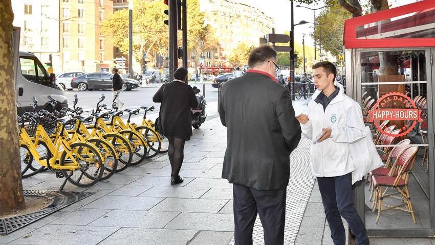 ofo与巴黎大众运输公司合作助力市民绿色出行