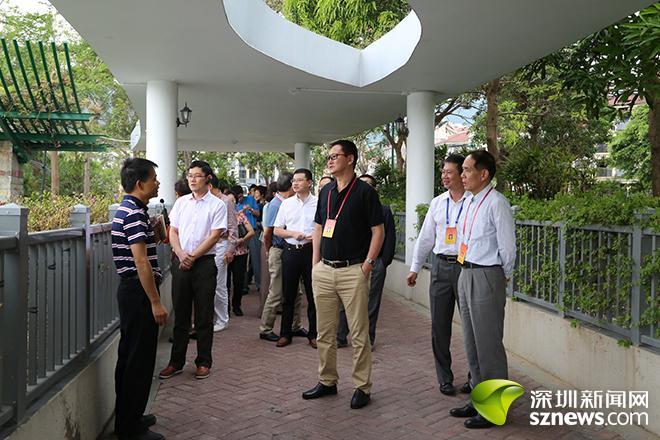 盐田区人大代表视察民生实事项目 监督项目按期完成
