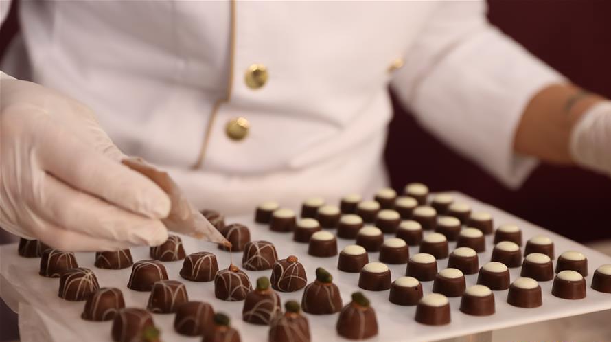 """""""欧洲巧克力节""""在意大利佩鲁贾开幕"""