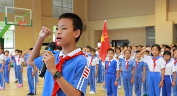 大鹏各校开展丰富活动庆中国少先队建队69周年