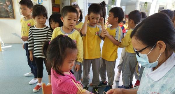 口腔、视力问题要重视!新区幼儿园儿童体检启动