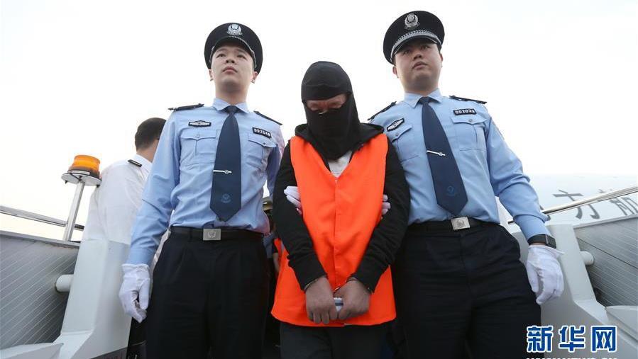 17名外逃经济犯罪嫌疑人被押解回国