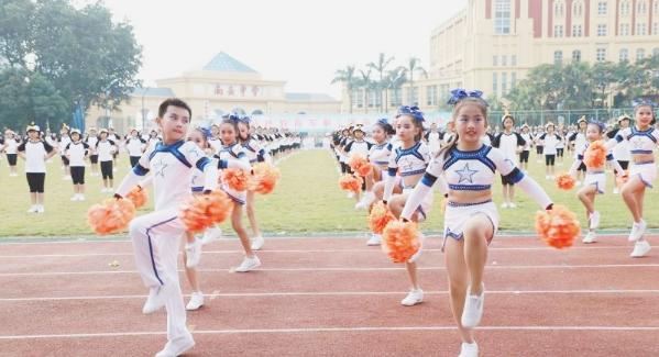 4000名师生齐聚南头中学 南山第十五届学校体育节正式开幕