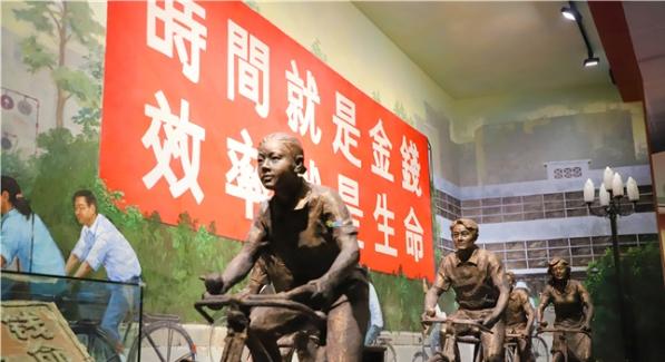 大鹏新区领导参观广东改革开放40周年展览
