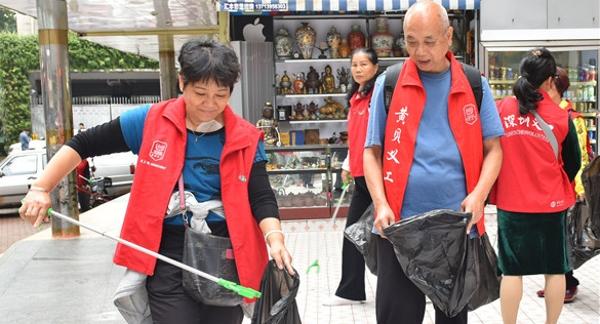 """千余人投入""""美丽罗湖""""大清扫行动 实现全区环境卫生显著提升"""