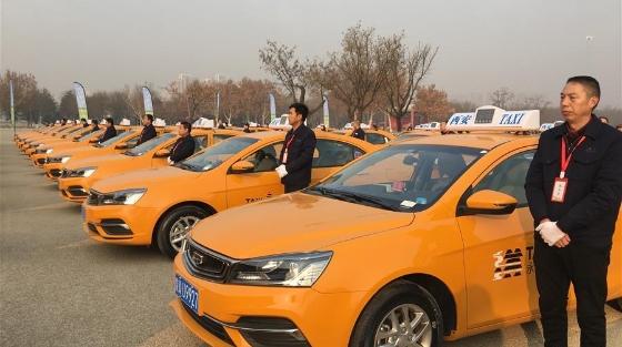 西安首批60辆甲醇出租车正式投放运营