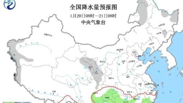 南方地区降雨降温还有雾 东北西北西藏有小到中雪