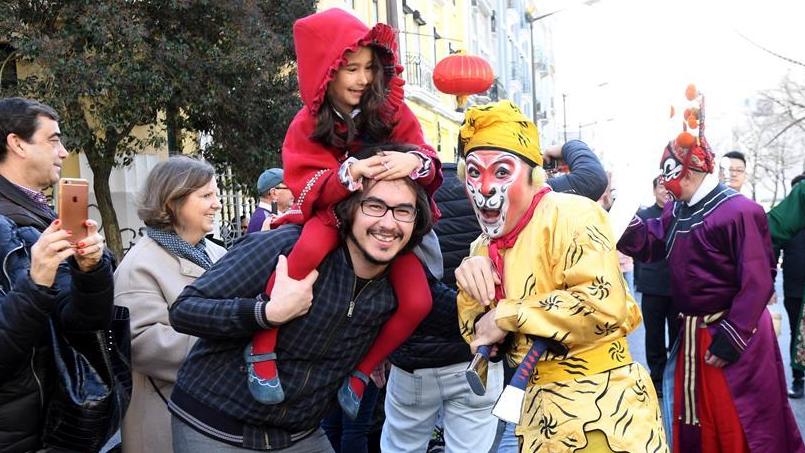 """""""欢乐春节""""活动在里斯本举行"""