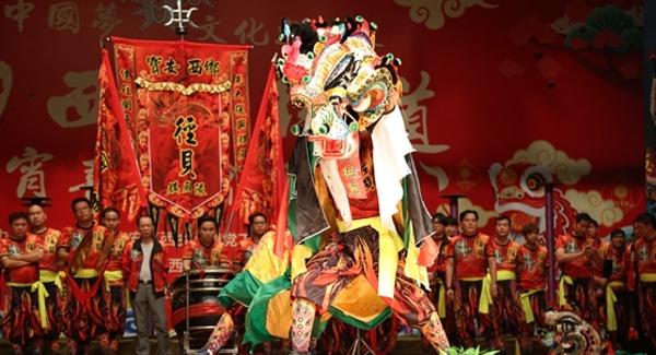 """西乡""""元宵喜乐会"""" 麒麟舞动 传统文化精彩纷呈"""
