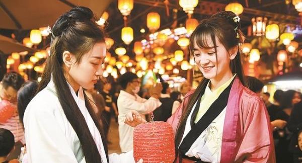 光明社区、锦绣中华 欢欢乐乐闹元宵