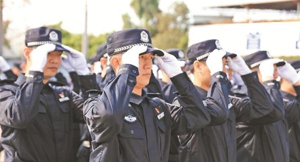 南山公安分局开展2019年春季练兵比武活动