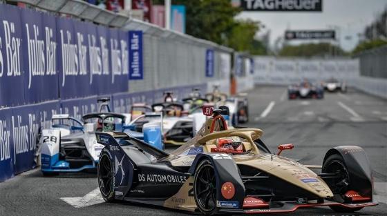 国际汽联电动方程式锦标赛三亚站举行
