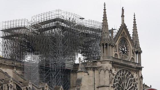 巴黎圣母院大火或系意外? 马克龙欲5年内重建