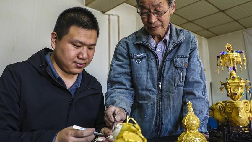 老匠人五十年坚守金银细工制作传统技艺