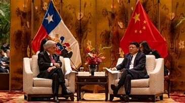 Chilean president visits SZ