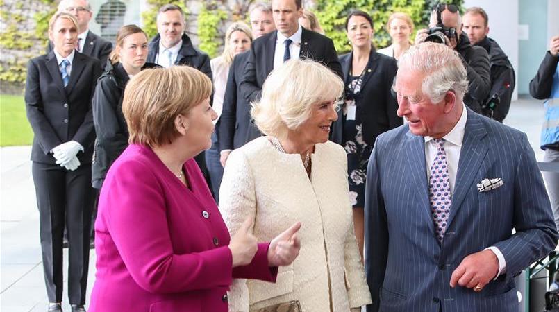 英国查尔斯王储夫妇访问德国
