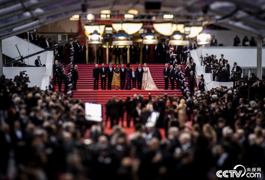 第72届戛纳电影节闪耀红毯电影开幕扮女人群星图片
