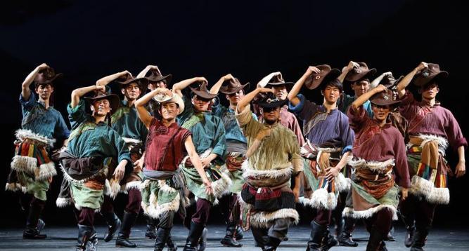 舞剧《天路》亮相第十二届中国艺术节