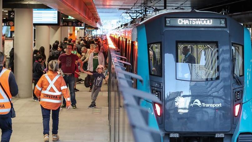 澳大利亚首条无人驾驶地铁线在悉尼开通