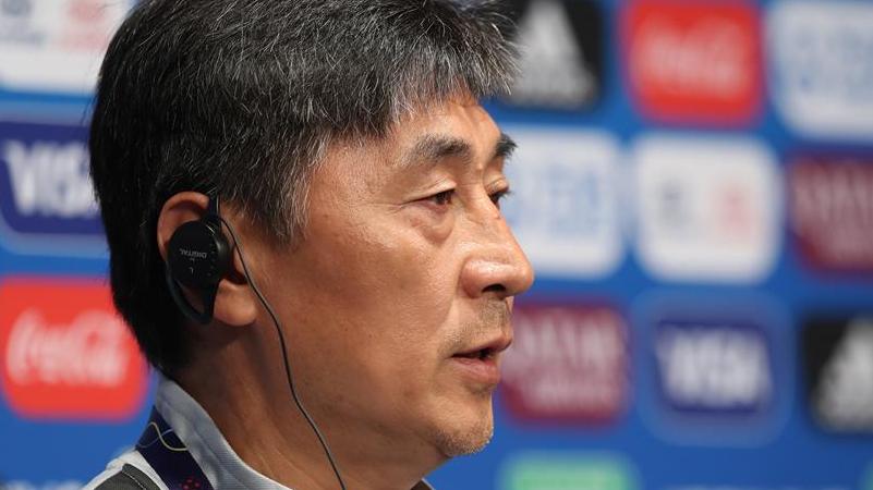 中国队举行赛前新闻发布会 14日凌晨迎战南非队