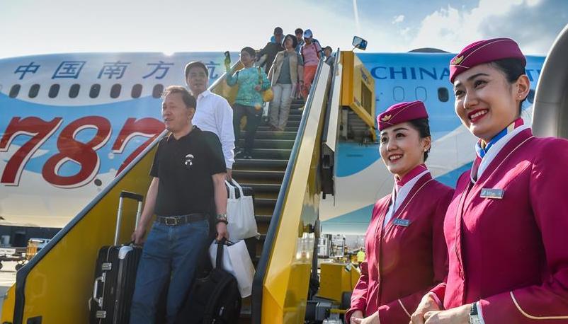 中国南航开通广州—乌鲁木齐—维也纳航线