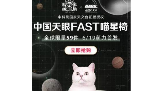 """中科院干微商了?国家天文台卖猫椅,可发射""""喵星信号"""""""