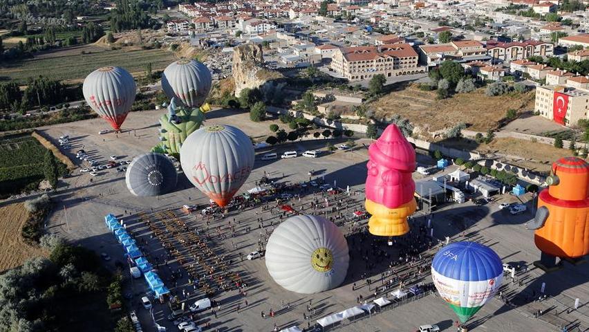 首屆卡帕多基亞國際熱氣球節開幕