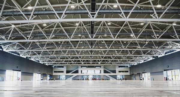 深圳國際會展中心主體施工已完成 展館施工基本完成