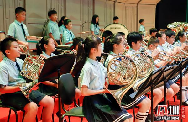 高中之美!2019聂耳青少年管乐艺术周在龙岗落岱岳区泰安市音乐学校图片