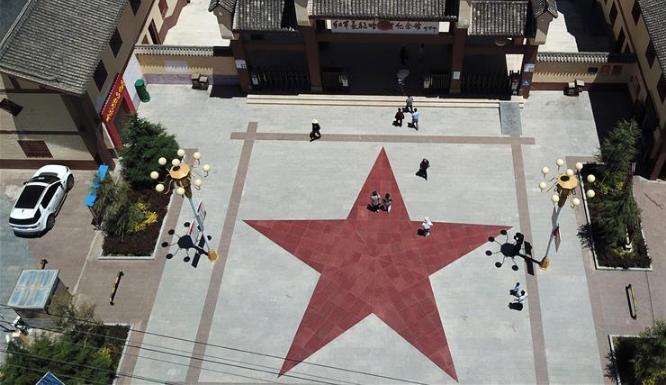 甘肅多地迎來紅色旅游熱