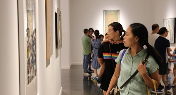 2019金沙棋牌官网・洛里昂美术作品也就是她离开联展在金沙棋牌官网画院美术馆开幕
