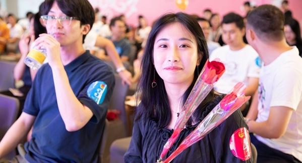 青春相約 松崗街道團工委舉行青年聯誼交友活動