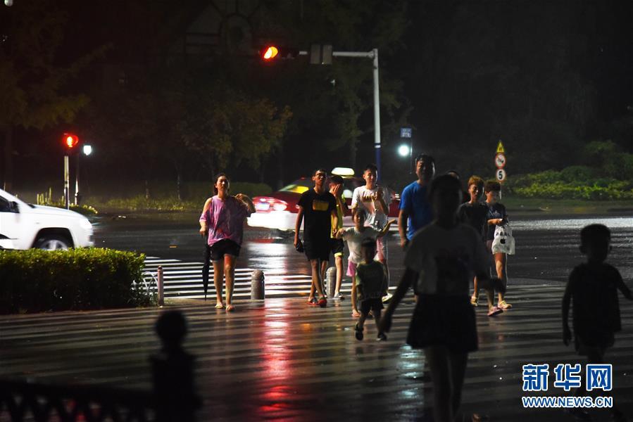 """台风""""利奇马""""在山东青岛再次登陆山东26座水库超汛限水位"""