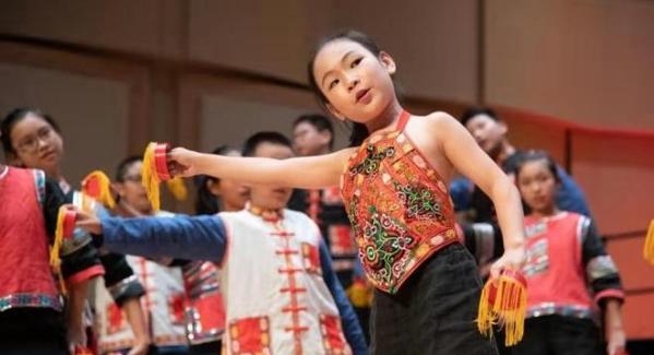 天籁童音惊艳美国国际合唱节 尽展盐田国际教育成果