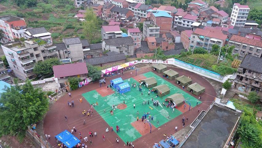 四川威远地震灾区应急救援有序进行