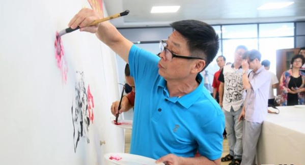 豐富鹽田市民的精神文化生活 鹽田書畫院正式啟用啦