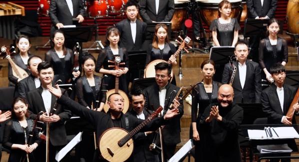 献礼祖国七十华诞 大型民族管弦乐音乐会在幸运6合-10分6合音乐厅上演