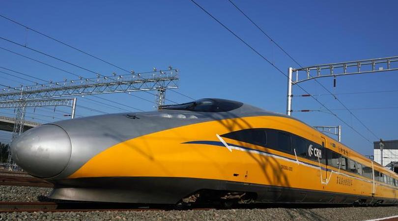 京張高鐵北京北動車所投入使用