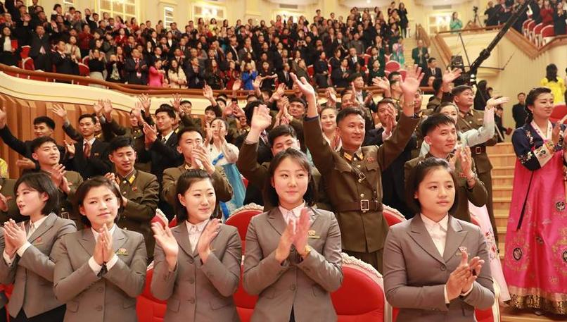 中国国家大剧院交响乐团对朝鲜进行访问演出