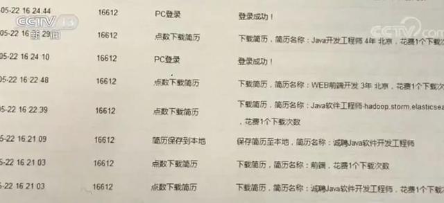 智联招聘员工监守自盗每月下载两万份简历 倒卖求职者信息