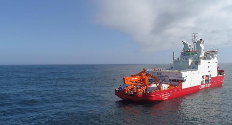 中國首次在南極宇航員海開展海洋生態調查