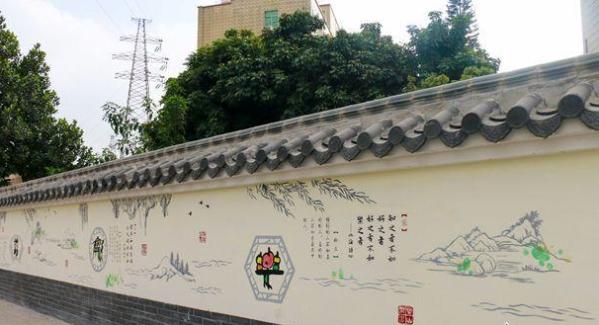 福民居民每天都在看的墙绘展 春节等你来打卡