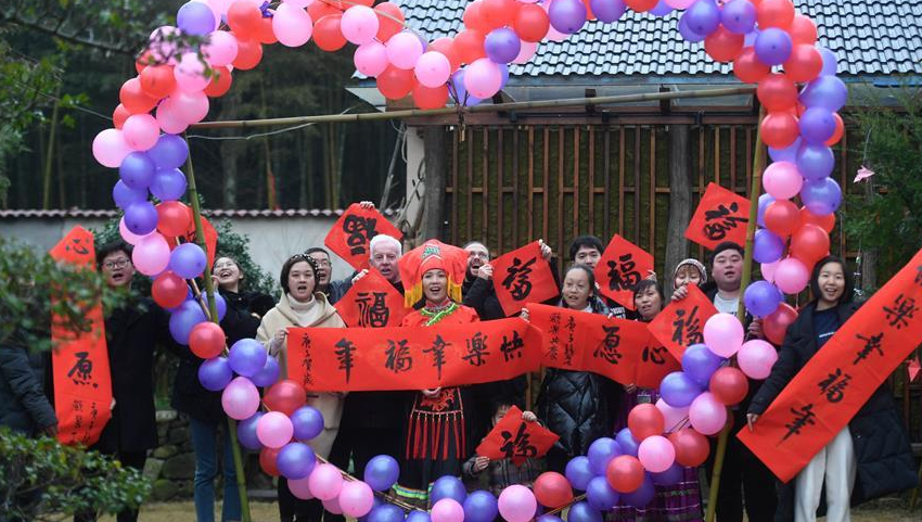浙江德清:乡村民宿迎新春