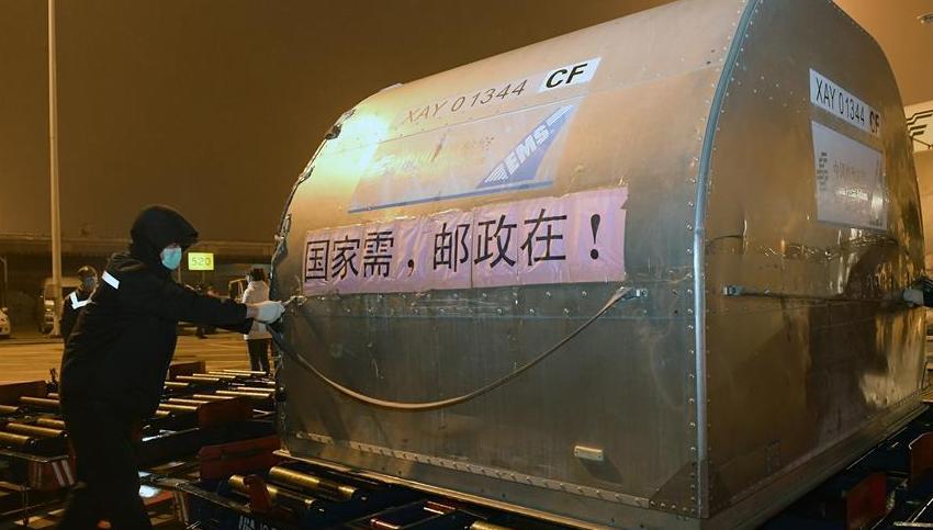 第二批16臺ECMO設備運抵武漢