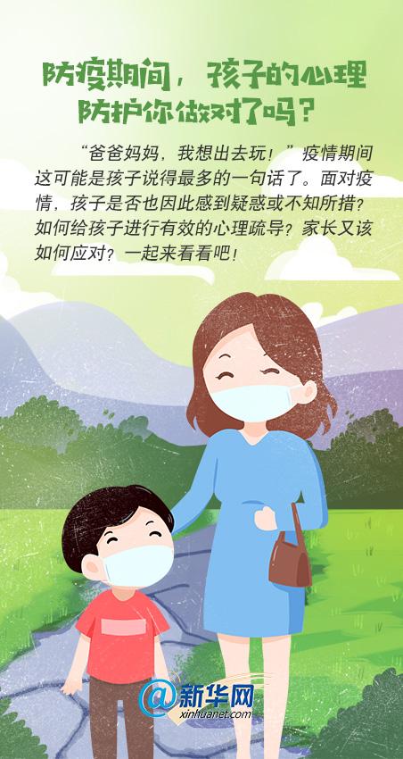 防疫期间,孩子的心理防护你做对了吗?
