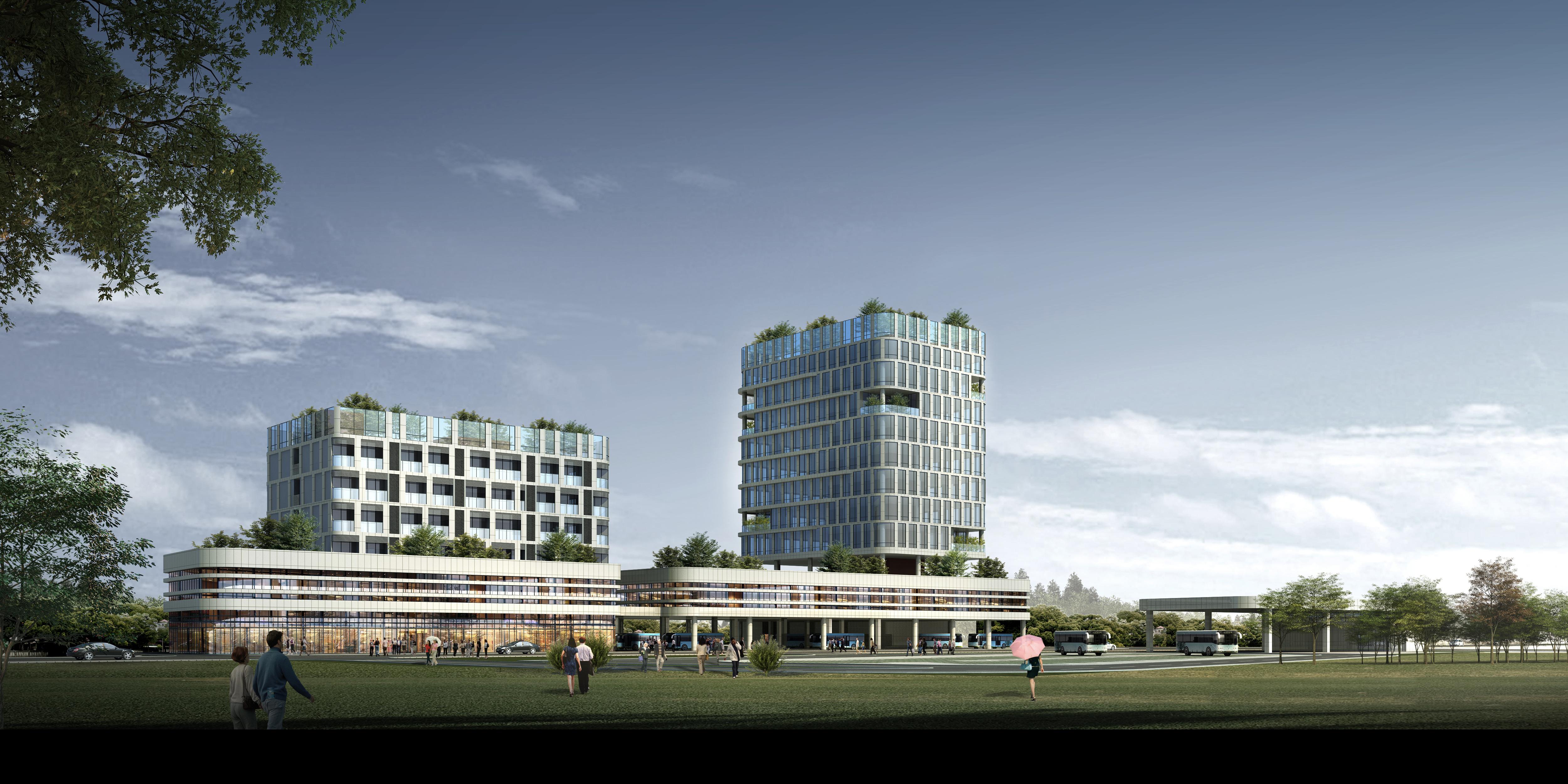 深汕巴士综合交通枢纽项目力争8月竣工