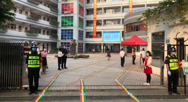 """彩田学校""""五个准备""""营造安全开学环境"""